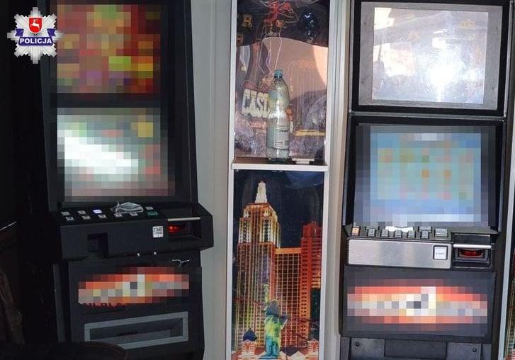 68 156443 Zamość: Policjanci ujawnili nielegalne automaty do gier