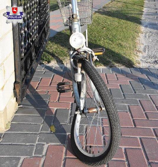 68 156767 Wjechał w rowerzystę
