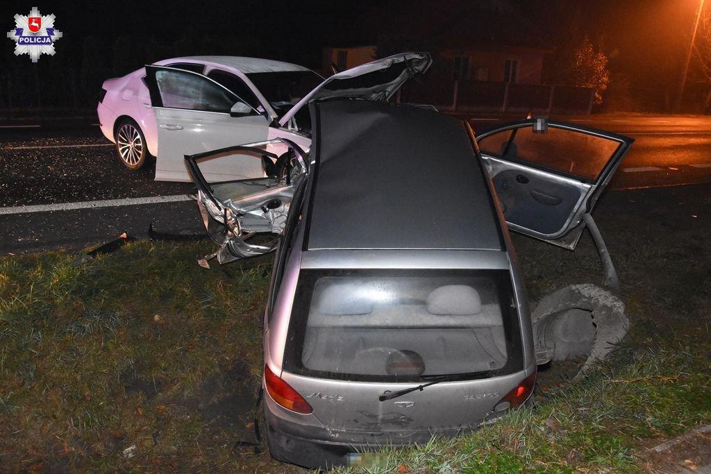 68 156930 Groźny wypadek w Sitańcu. 3 osoby ranne