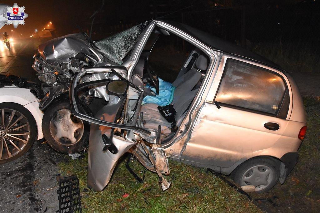 68 156931 Groźny wypadek w Sitańcu. 3 osoby ranne