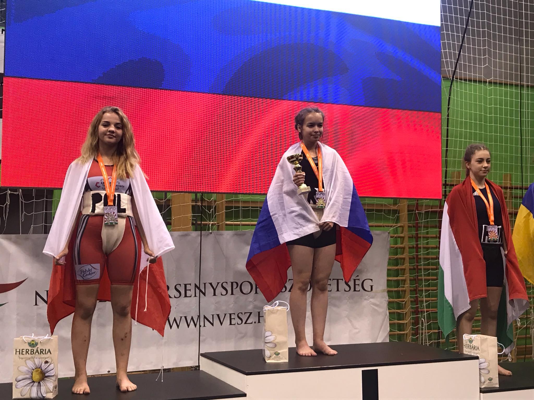 71676653 1148061258721337 34365897351102464 n Zawodnicy Agrosu przywieźli z Węgier trzy medale!