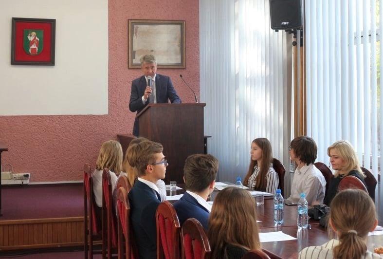 78 Tomaszów Lub.: Pierwsze posiedzenie Młodzieżowej Rady Miasta