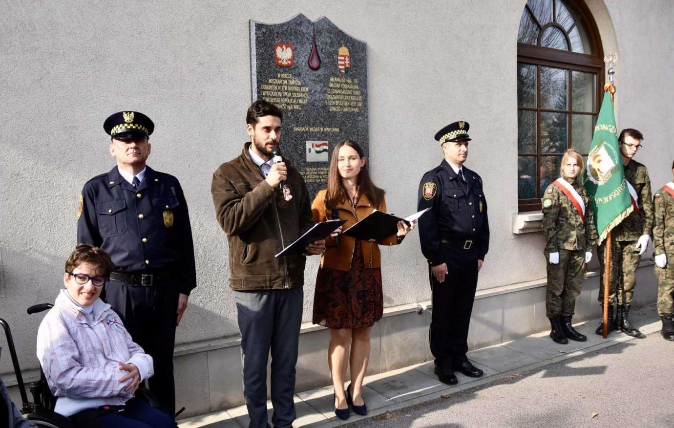 dsc 9460 Zamość: Obchody Narodowego Święta Węgier [ZDJĘCIA, FILM]