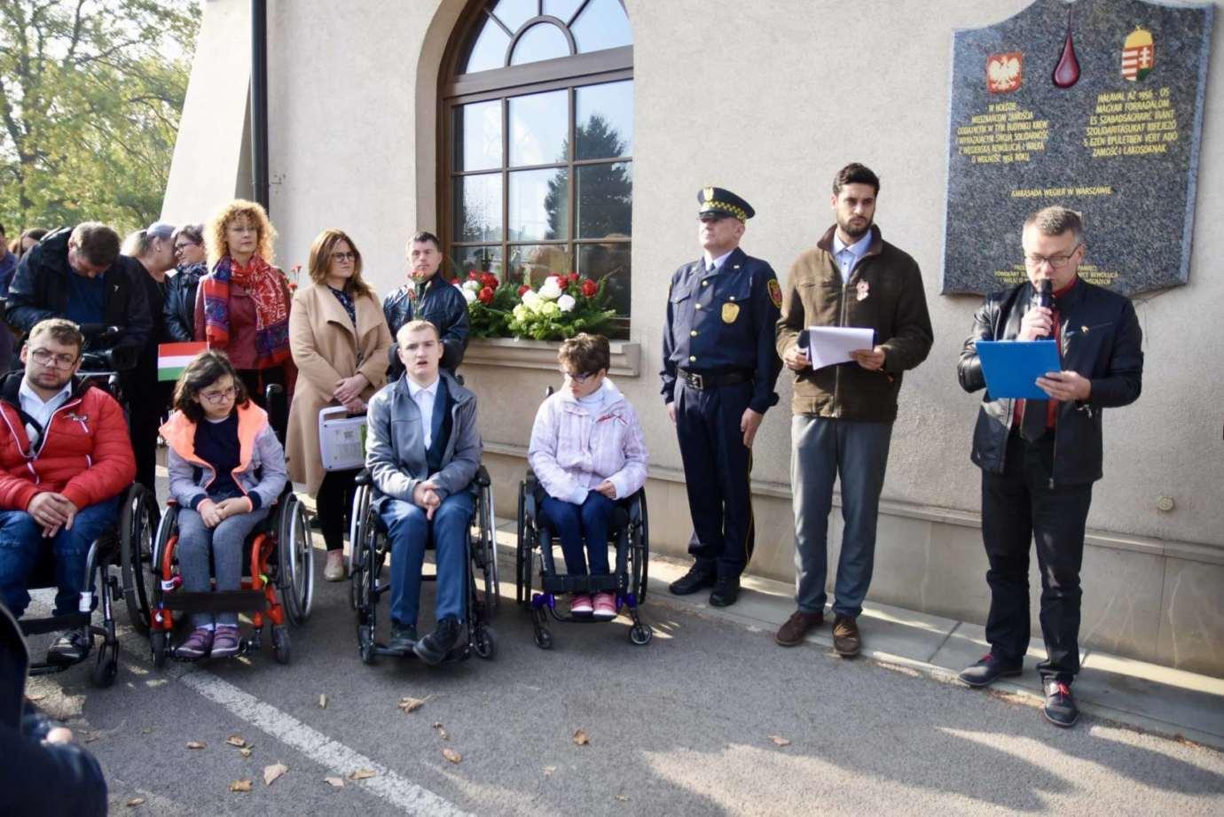 dsc 9474 Zamość: Obchody Narodowego Święta Węgier [ZDJĘCIA, FILM]