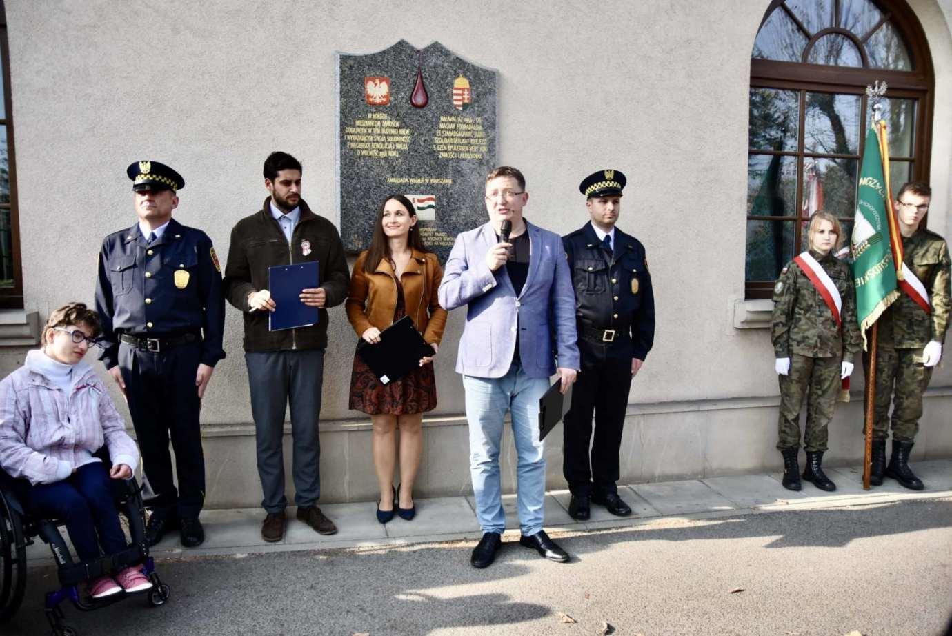 dsc 9484 Zamość: Obchody Narodowego Święta Węgier [ZDJĘCIA, FILM]
