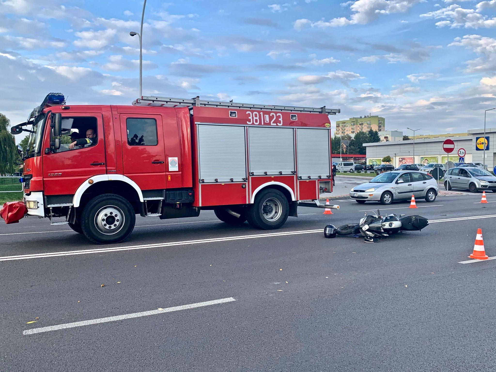 img 3998 Z ostatniej chwili! Kolejny wypadek na ul. Sadowej! (zdjęcia)