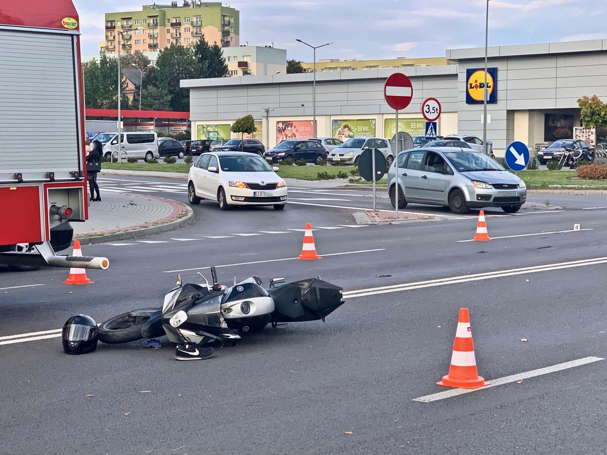 img 3999 Z ostatniej chwili! Kolejny wypadek na ul. Sadowej! (zdjęcia)