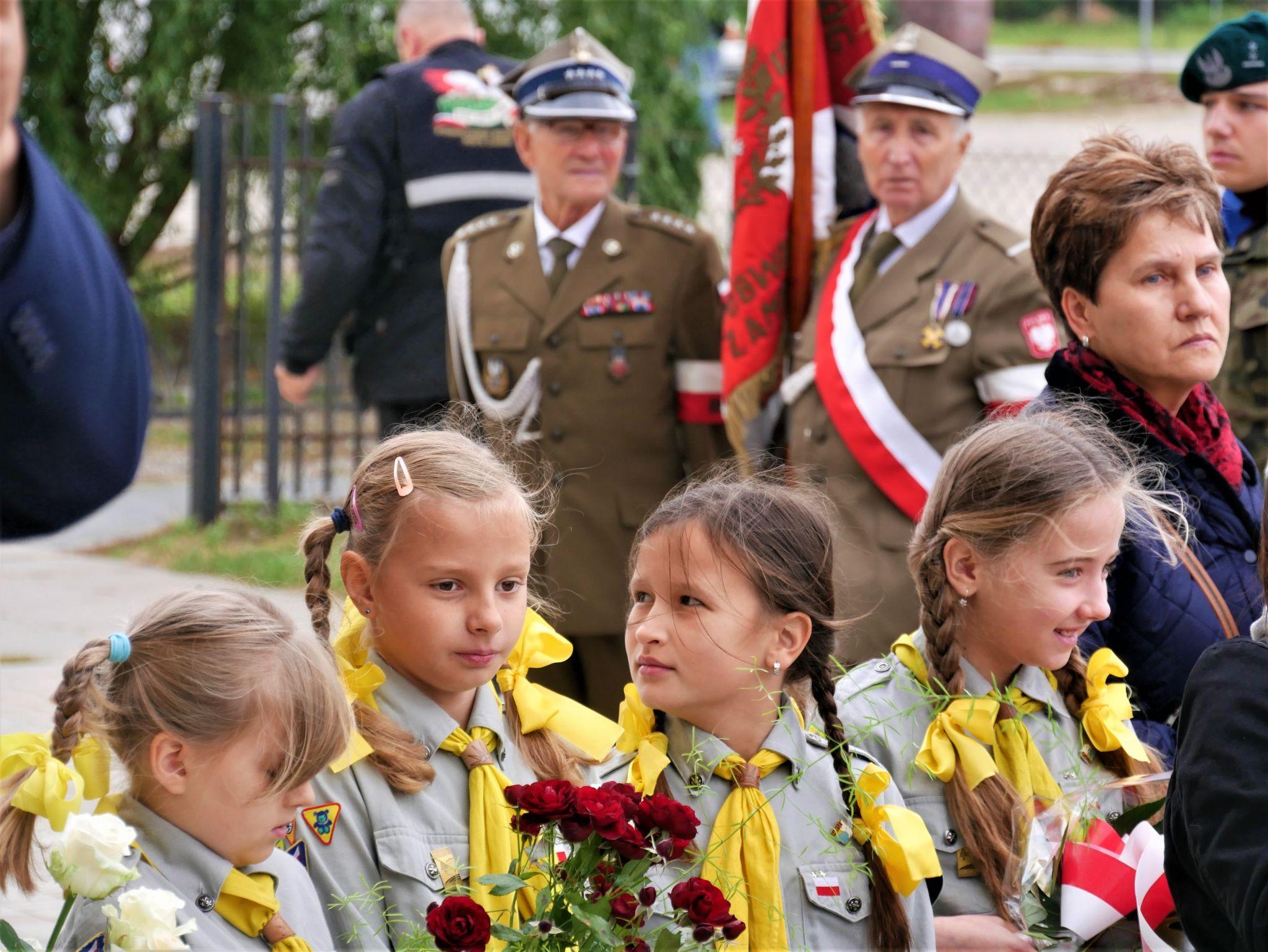p1130313 Piękne pożegnanie trzech odnalezionych żołnierzy II Inspektoratu Zamojskiego AK [FOTORELACJA]