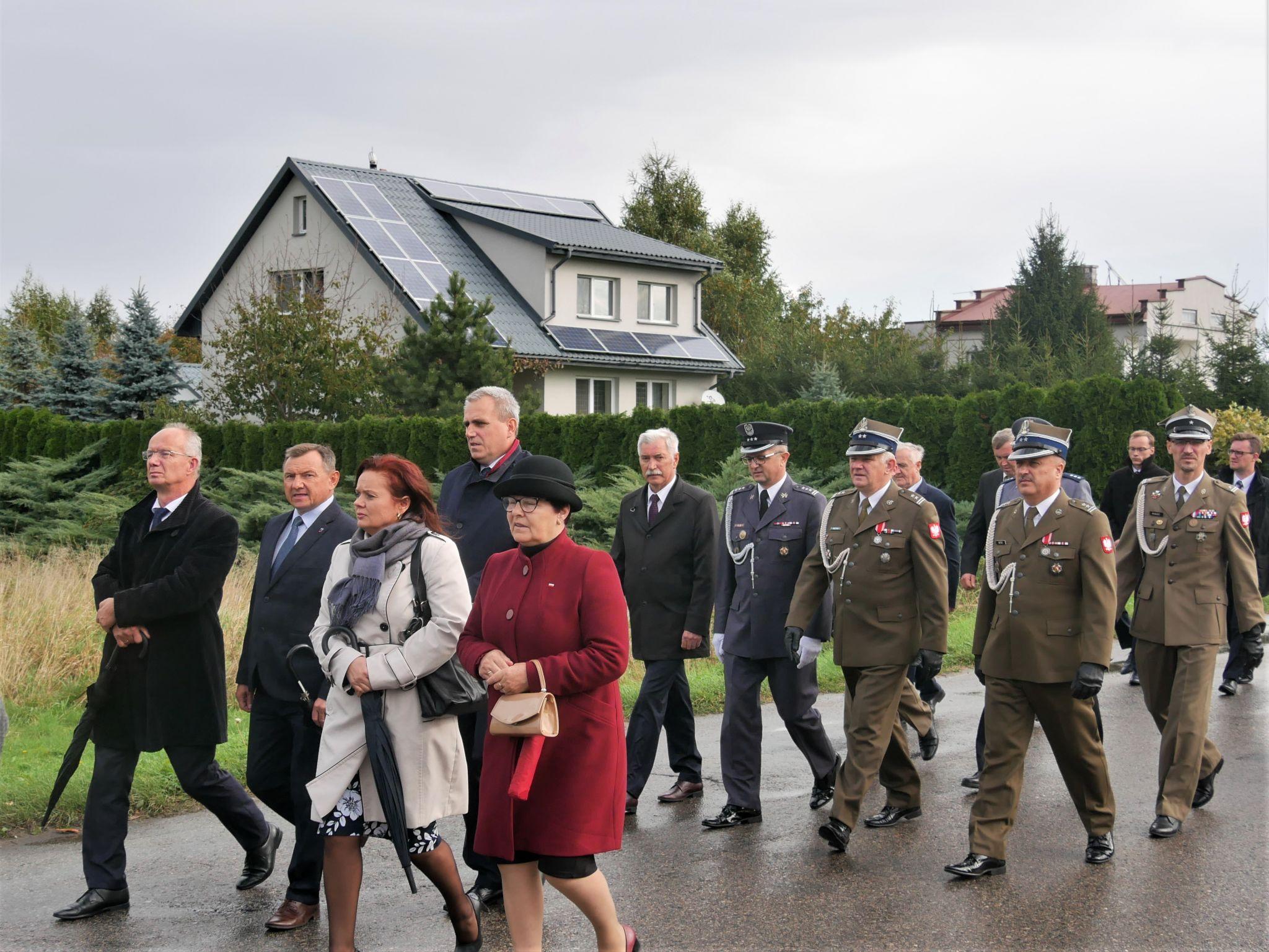 p1130413 Piękne pożegnanie trzech odnalezionych żołnierzy II Inspektoratu Zamojskiego AK [FOTORELACJA]