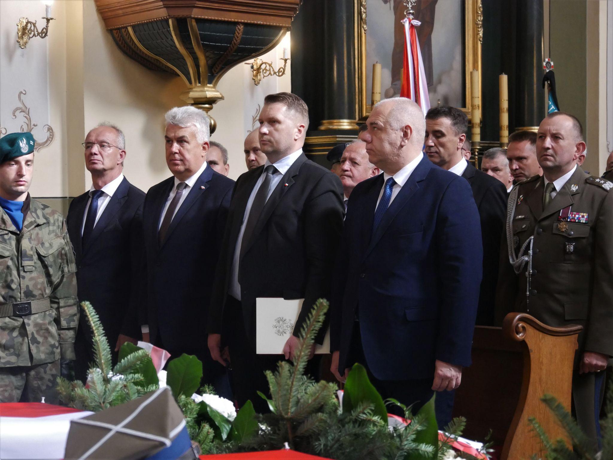 p1130724 Piękne pożegnanie trzech odnalezionych żołnierzy II Inspektoratu Zamojskiego AK [FOTORELACJA]