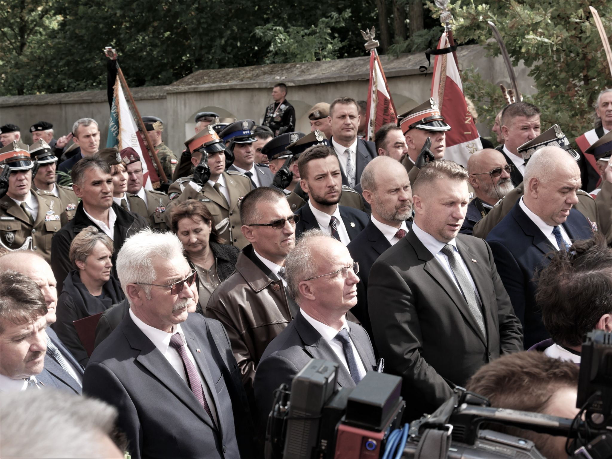 p1130934 Piękne pożegnanie trzech odnalezionych żołnierzy II Inspektoratu Zamojskiego AK [FOTORELACJA]