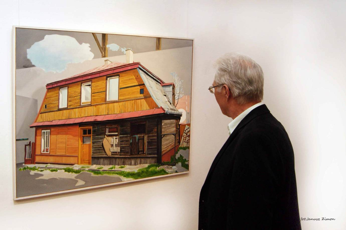 piotr tymochowicz bwa galeria zamojska fot janusz zimon 12 Zamość: Wernisaż wystawy Piotra Tymochowicza