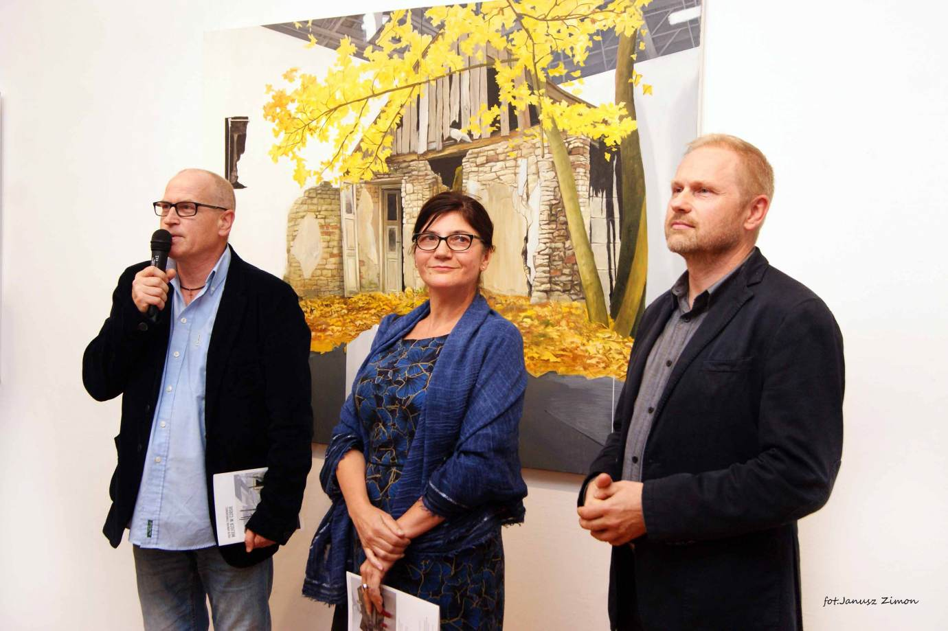 piotr tymochowicz bwa galeria zamojska fot janusz zimon 2 Zamość: Wernisaż wystawy Piotra Tymochowicza