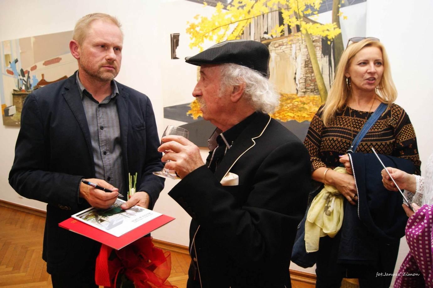 piotr tymochowicz bwa galeria zamojska fot janusz zimon 22 Zamość: Wernisaż wystawy Piotra Tymochowicza