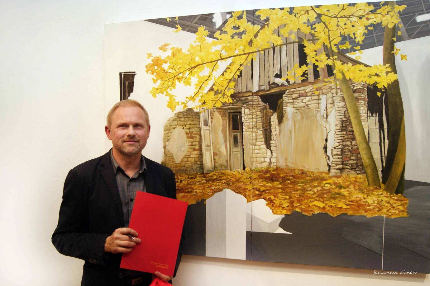 piotr tymochowicz bwa galeria zamojska fot janusz zimon 24 Zamość: Wernisaż wystawy Piotra Tymochowicza
