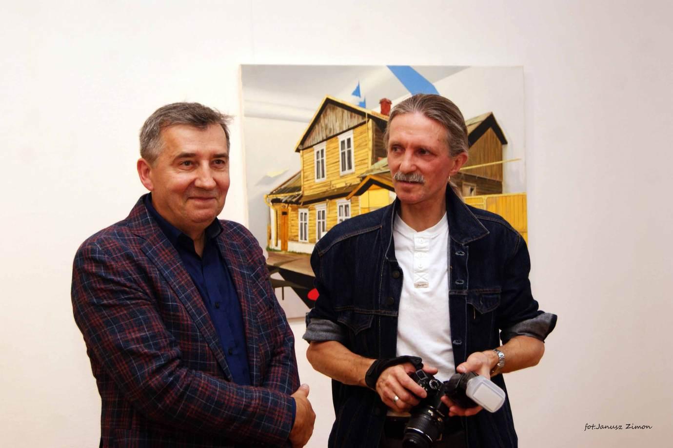 piotr tymochowicz bwa galeria zamojska fot janusz zimon 28 1 Zamość: Wernisaż wystawy Piotra Tymochowicza