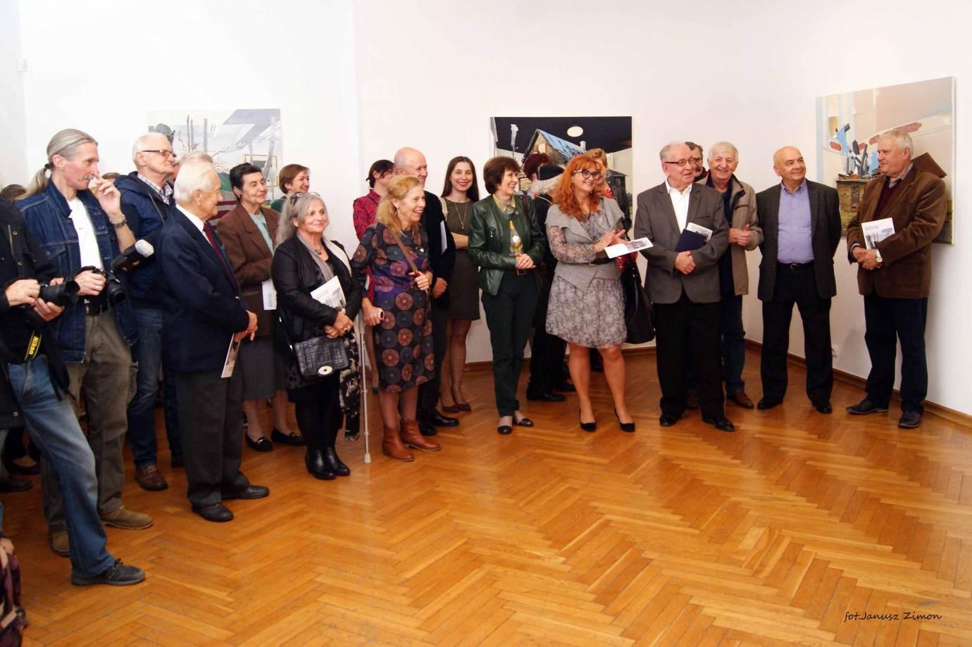 piotr tymochowicz bwa galeria zamojska fot janusz zimon 3 Zamość: Wernisaż wystawy Piotra Tymochowicza
