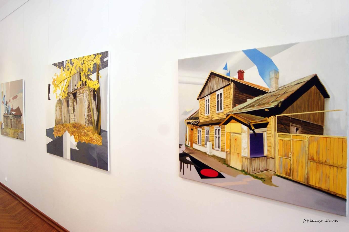 piotr tymochowicz bwa galeria zamojska fot janusz zimon 32 Zamość: Wernisaż wystawy Piotra Tymochowicza