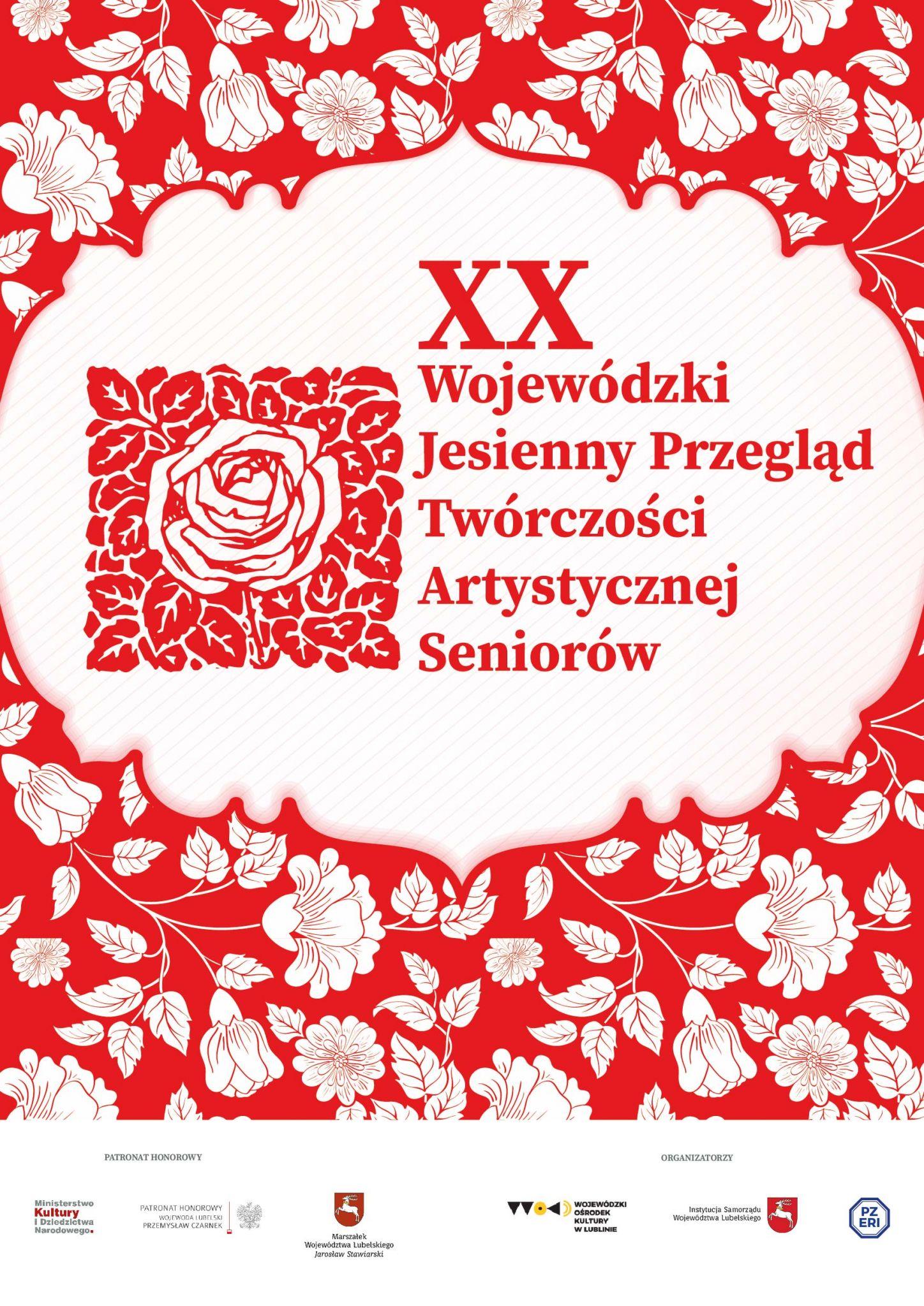 seniorzy 2019 XX Wojewódzki Jesienny Przegląd Twórczości Artystycznej Seniorów już wkrótce w ZDK