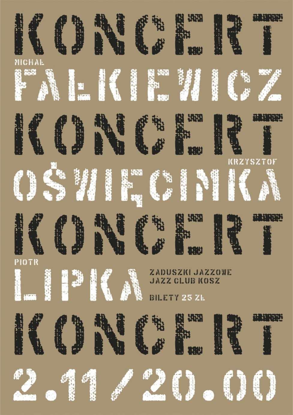 """zaduszki Zamość: Zaduszki Jazzowe – Michał Fałkiewicz w Jazz Clubie """"Kosz"""""""