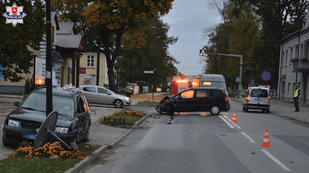 zrzut ekranu 2019 10 7 o 13 03 44 Wypadek w Szczebrzeszynie. 30-latek w szpitalu