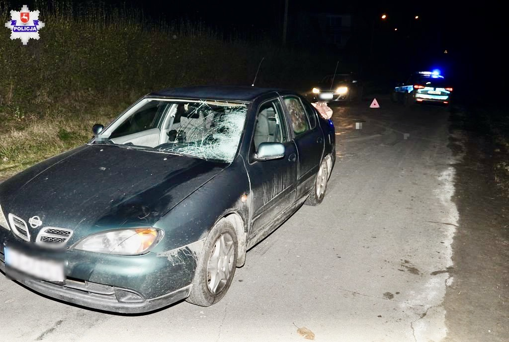 68 158964 Nissanem potrącił pieszego