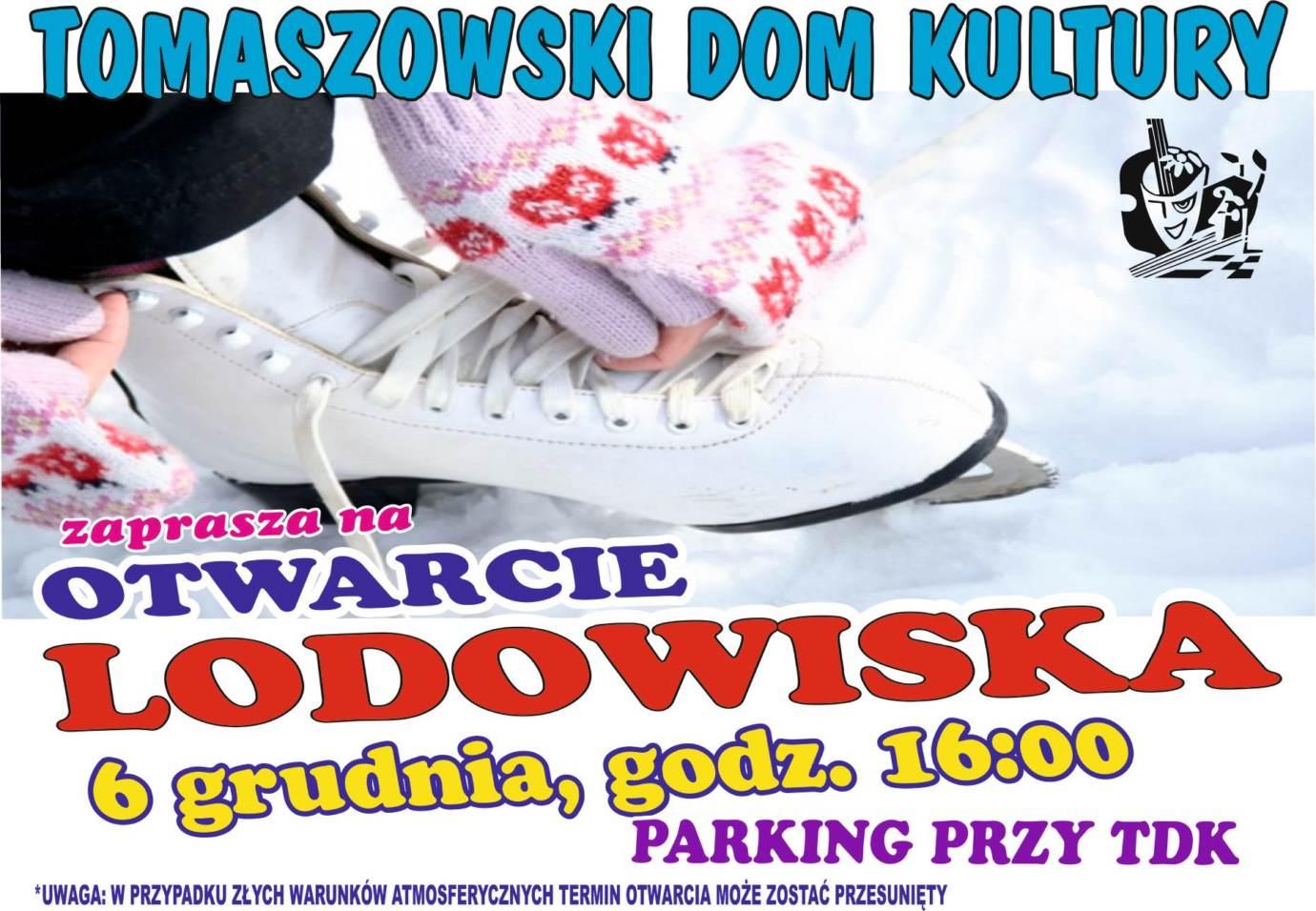 78249560 2893368494029487 8678237633547075584 o Tomaszów Lub.: Szykujcie łyżwy! Startuje lodowisko!