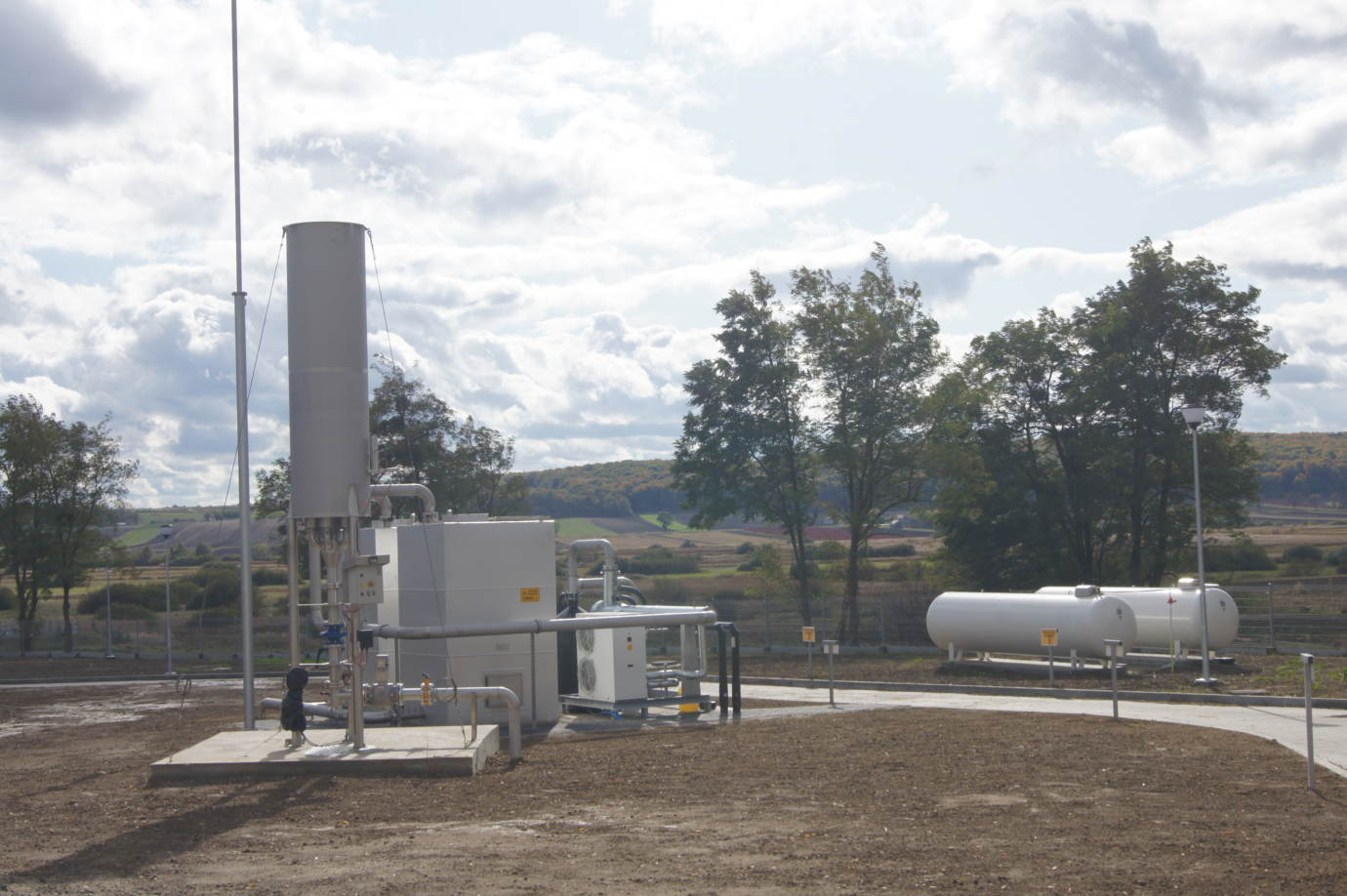 dsc08759 1 W Gm. Rachanie powstała nowoczesna biogazownia oraz suszarnia owoców i warzyw