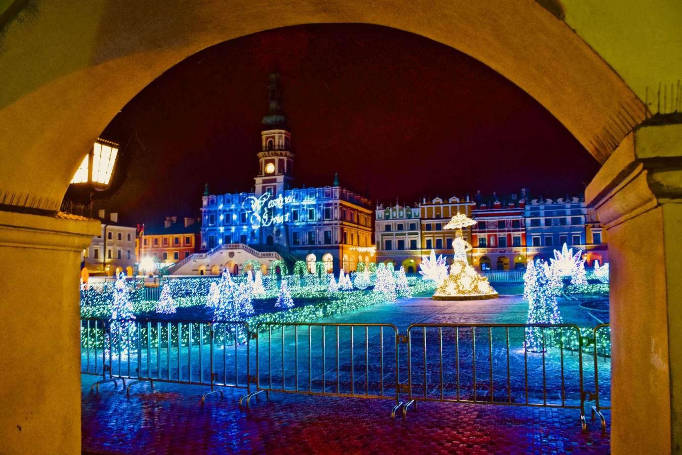 dsc 3960 Świetlny labirynt w sercu miasta. Zamość uroczyście odpali świąteczne iluminacje