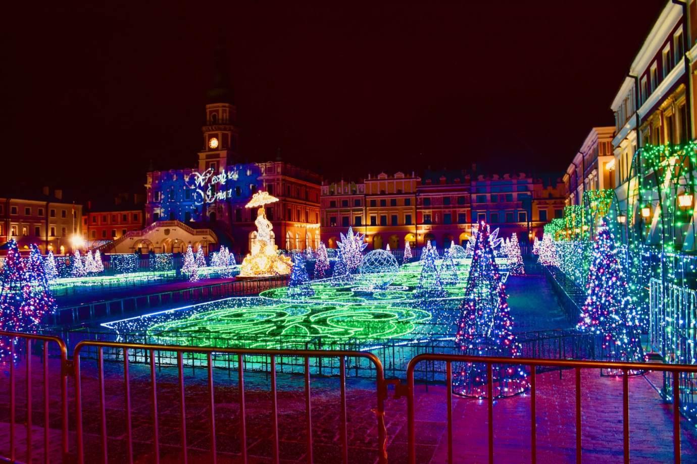 dsc 3974 Świetlny labirynt w sercu miasta. Zamość uroczyście odpali świąteczne iluminacje