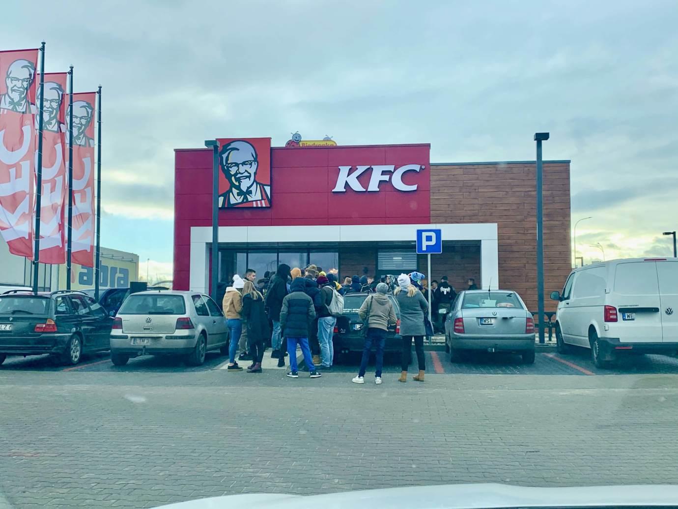 img 5066 Restauracja KFC na godzinę przed pierwszym otwarciem (zdjęcia)