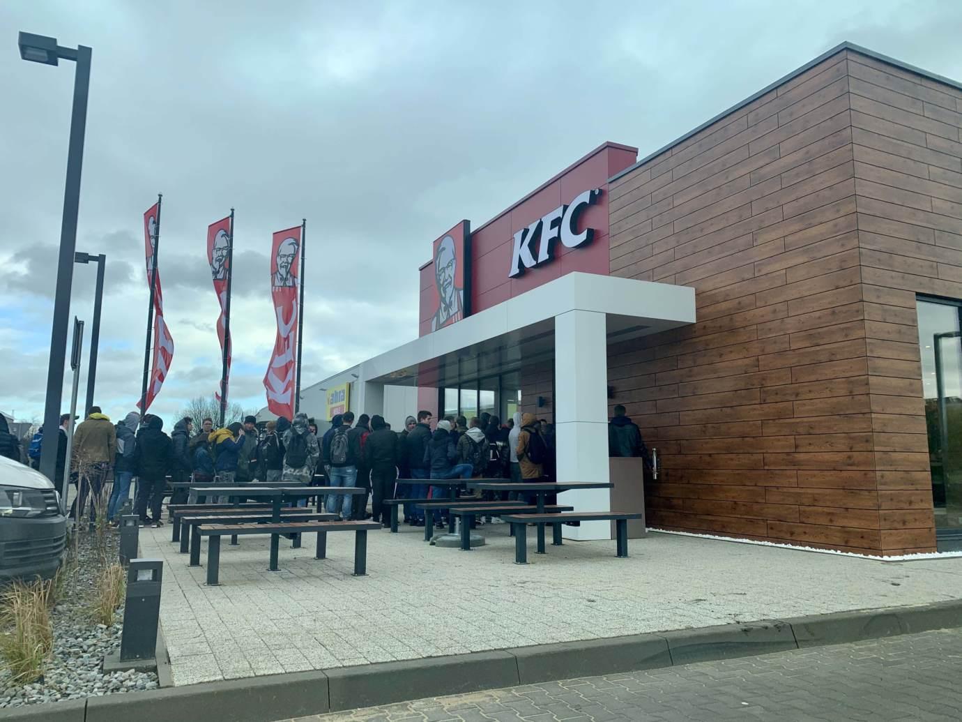 img 5067 Restauracja KFC na godzinę przed pierwszym otwarciem (zdjęcia)