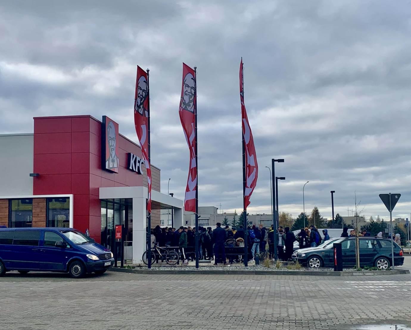 img 5068 Restauracja KFC na godzinę przed pierwszym otwarciem (zdjęcia)