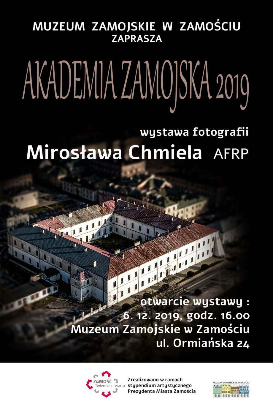 plakat got popraw Akademia Zamojska - otwarcie wystawy
