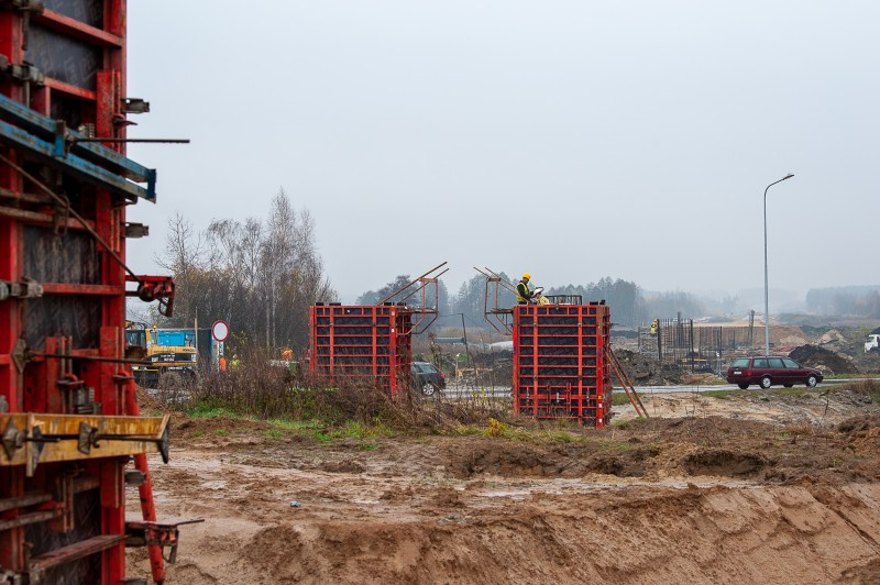 s17obwtomaszowalub 5331 1 Postępują prace przy budowie obwodnicy Tomaszowa Lubelskiego [ZOBACZ ZDJĘCIA]
