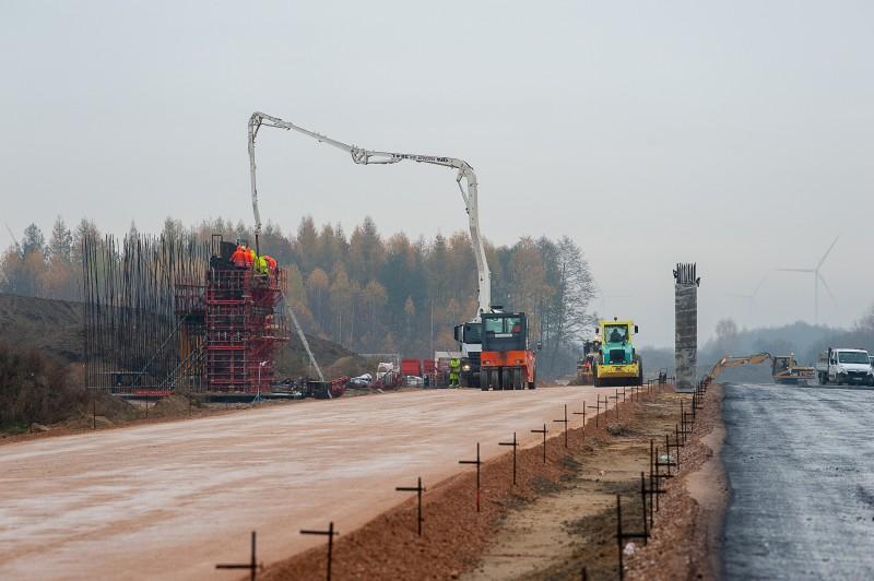 s17obwtomaszowalub 5336 Postępują prace przy budowie obwodnicy Tomaszowa Lubelskiego [ZOBACZ ZDJĘCIA]