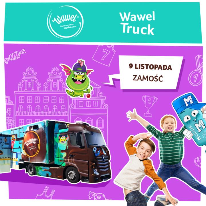 zamosc zdj Ciężarówka ze słodkościami zawita do Zamościa