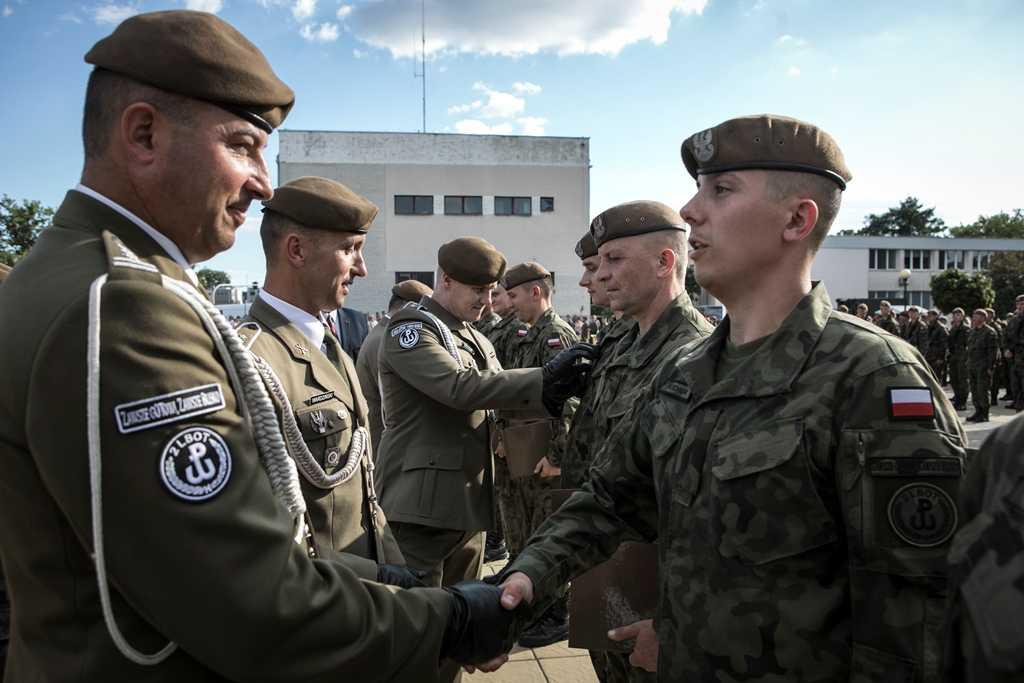 2 lbot 1 promocja podoficerska 1 Przysięga i promocja Terytorialsów w Hrubieszowie