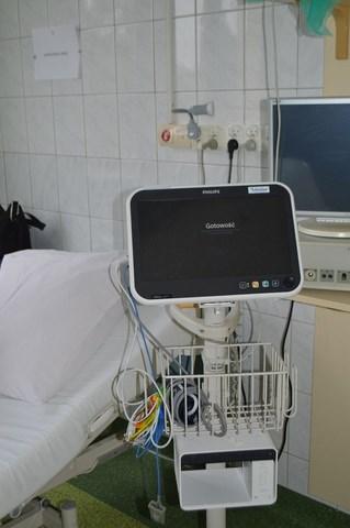 2 Nowy sprzęt kardiologiczny w Zamojskim Szpitalu Niepublicznym