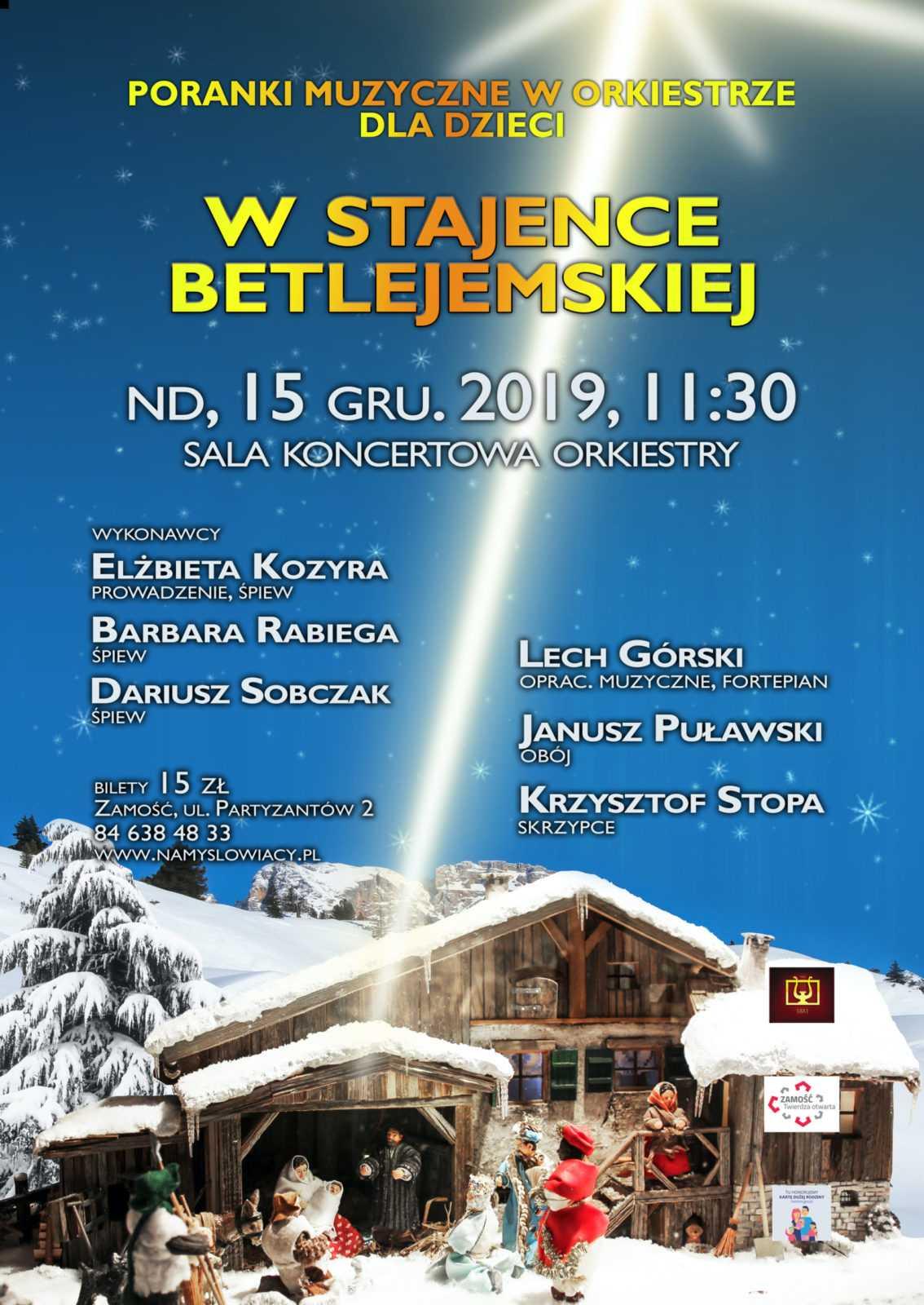 2019 12 15 w stajence betlejemskiej scaled Świąteczne opowieści z Namysłowiakami
