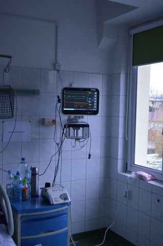 4 Nowy sprzęt kardiologiczny w Zamojskim Szpitalu Niepublicznym