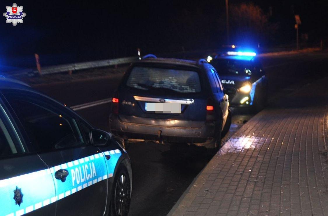 68 159290 Pijany 18-latek ukradł samochód i go rozbił