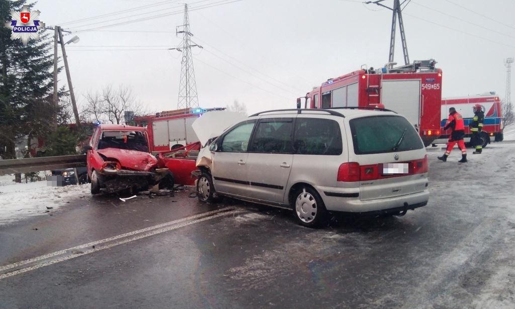 68 160637 Ukrainiec spowodował wypadek. 19 - latka poważnie ranna