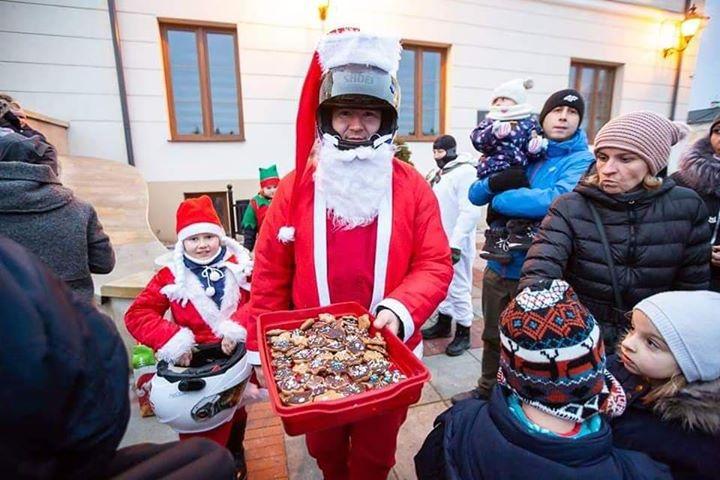 78381043 668014853728522 4584963002494615552 n Szczebrzeszyn: Mikołaje na motorach sprawią radość dzieciom
