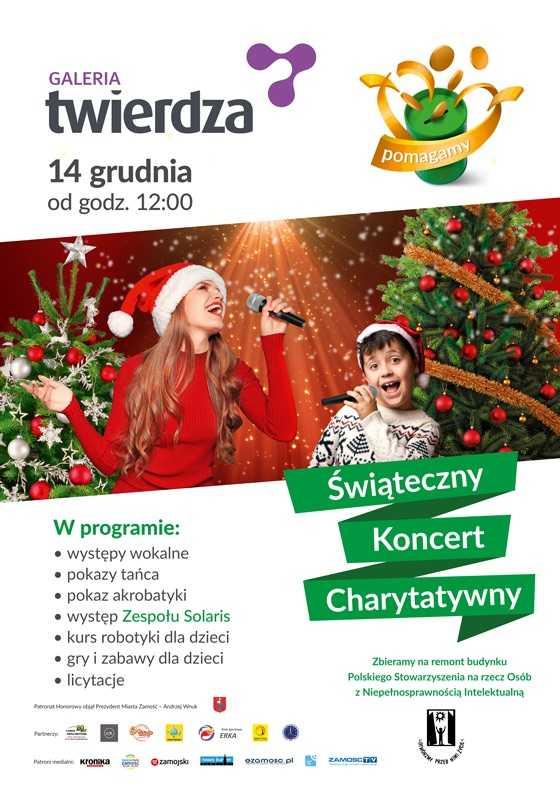 b1 koncert tz Świąteczny koncert charytatywny w Galerii Twierdza na rzecz PSONI