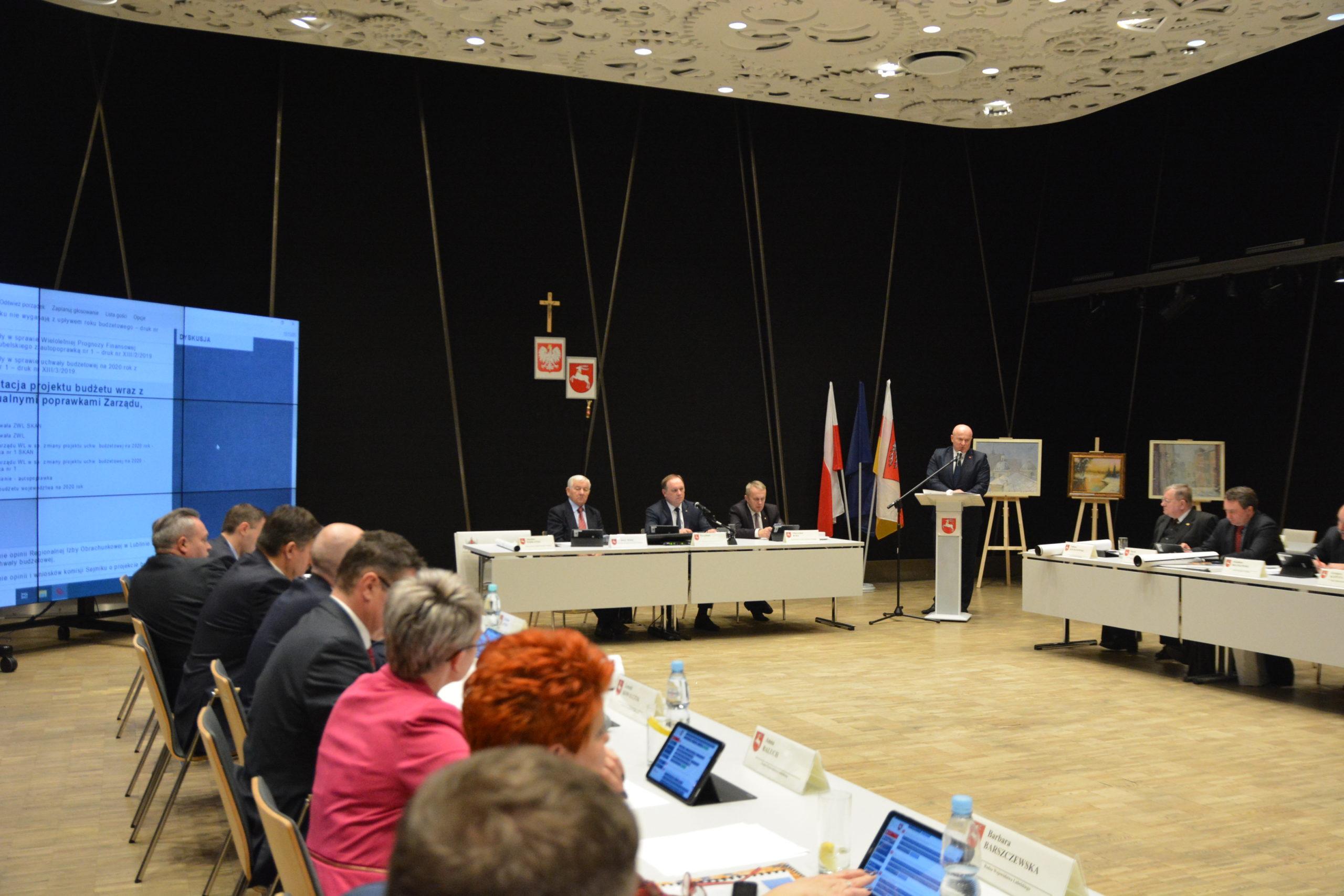 dsc 4082 scaled 1 Radni Sejmiku Województwa Lubelskiego przyjęli budżet na 2020 rok
