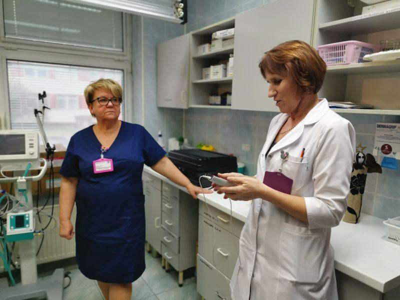 img 20191212 101400 Zamojski Sztab WOŚP z wizytą na Oddziale Neonatologii [ZDJĘCIA]