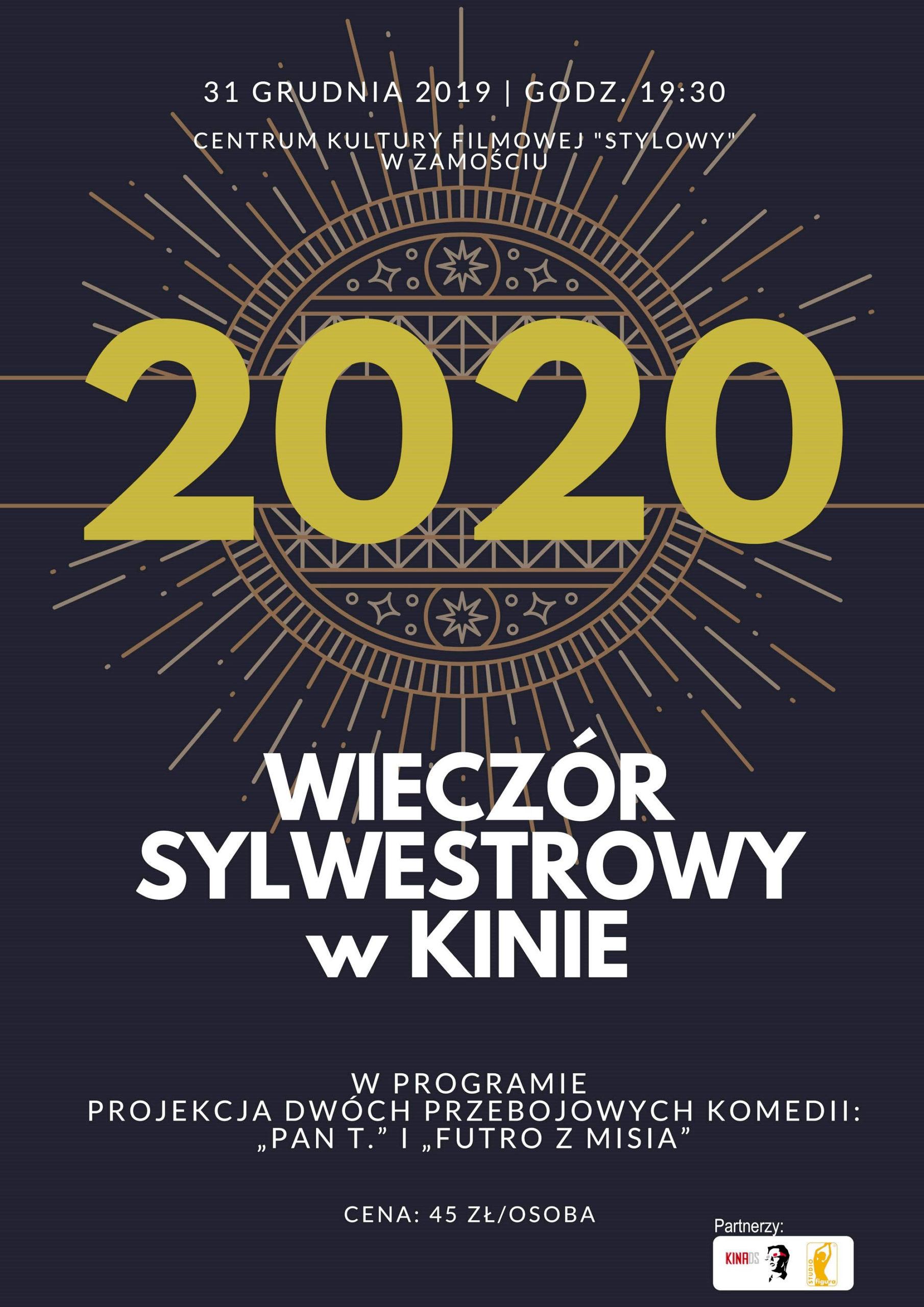 new year poster scaled Wieczór Sylwestrowy w kinie