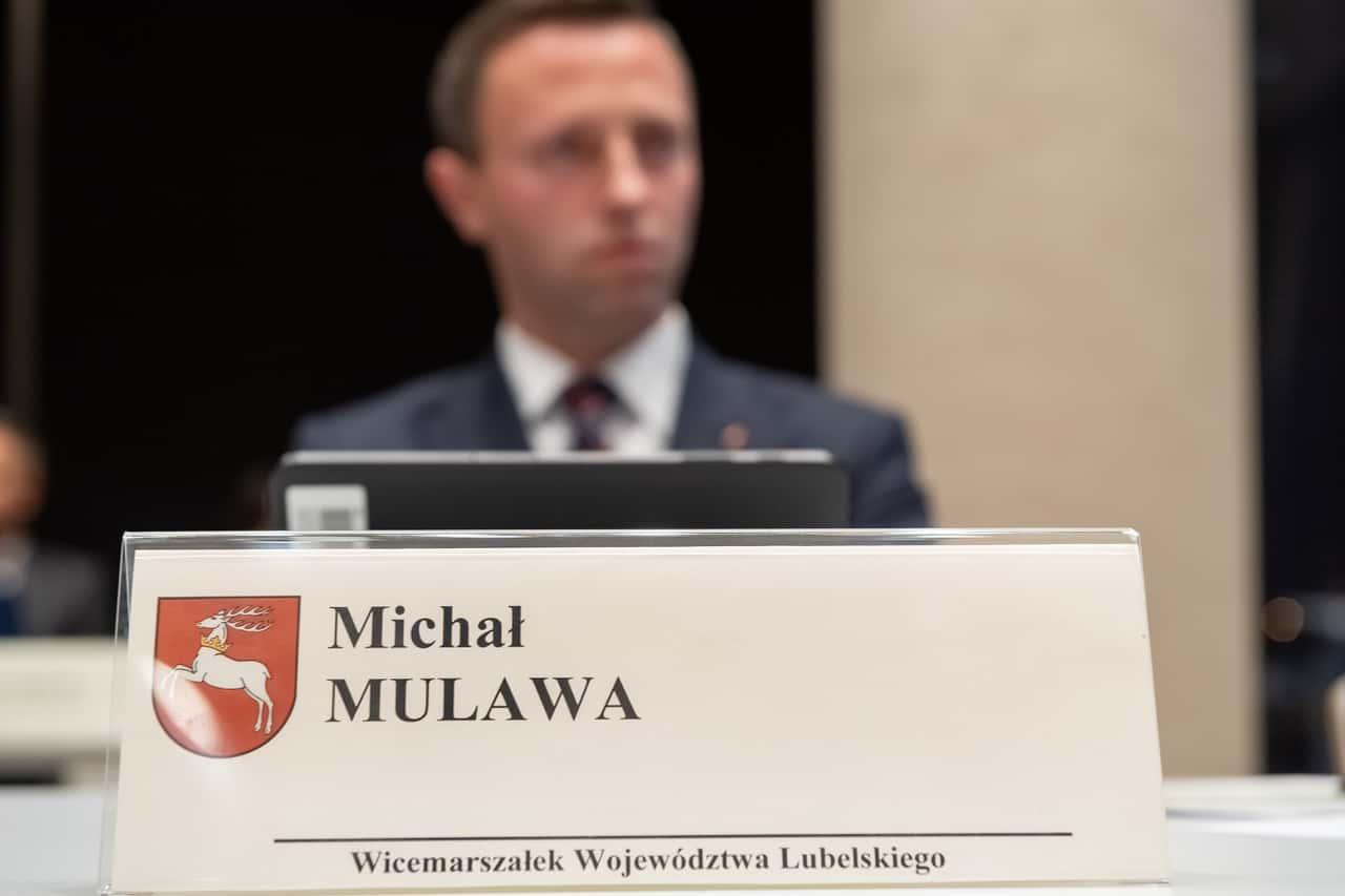 pw1 7445 Michał Mulawa silnie związany z Zamojszczyzną nowym wicemarszałkiem