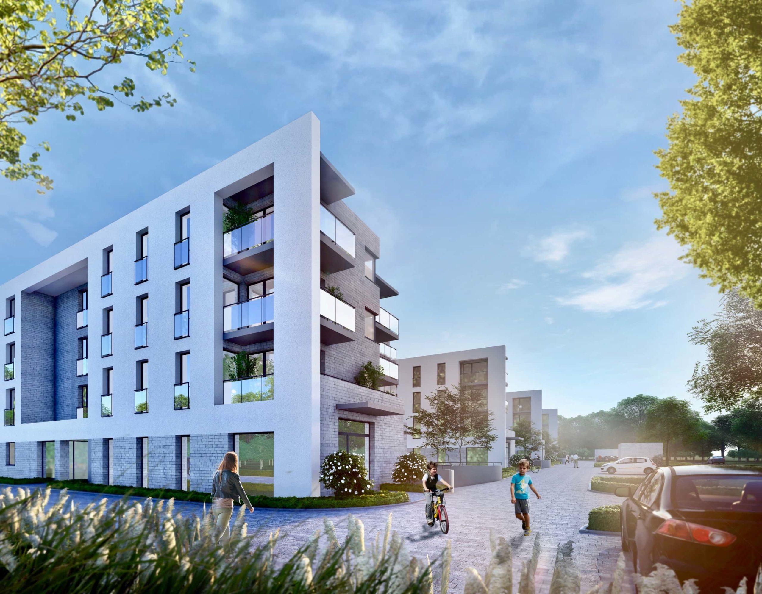 zam lipska 1 scaled 1 Powstaje drugi etap nowoczesnego osiedla mieszkaniowego
